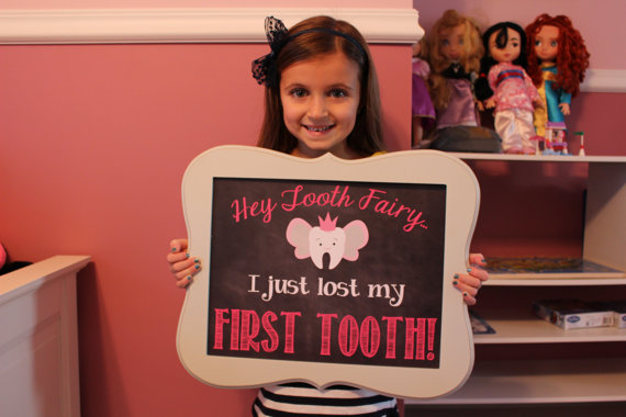 I just lost my tooth photo prop