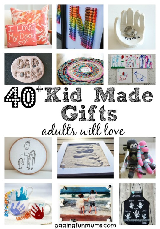 40 gift ideas made by kids negle Choice Image