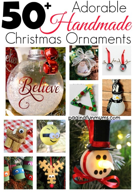 50+ Adorable Handmade Ornaments