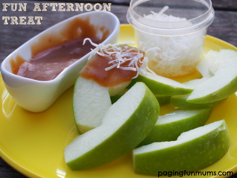 Fun and simple afternoon snack idea! Great for a party too!