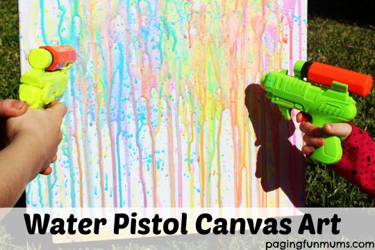 Water-Pistol-Canvas-Art