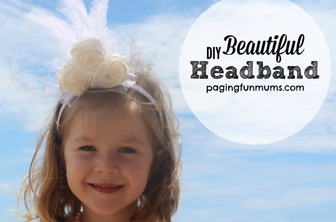 Beautiful DIY Headband