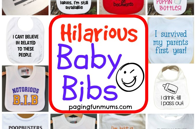 Hilarious Baby Bibs – Featured Etsy Stores