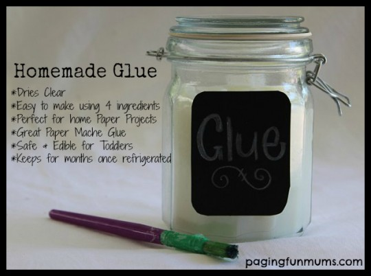 Homemade Glue Recipe