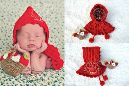 Red Riding Hood Crochet set