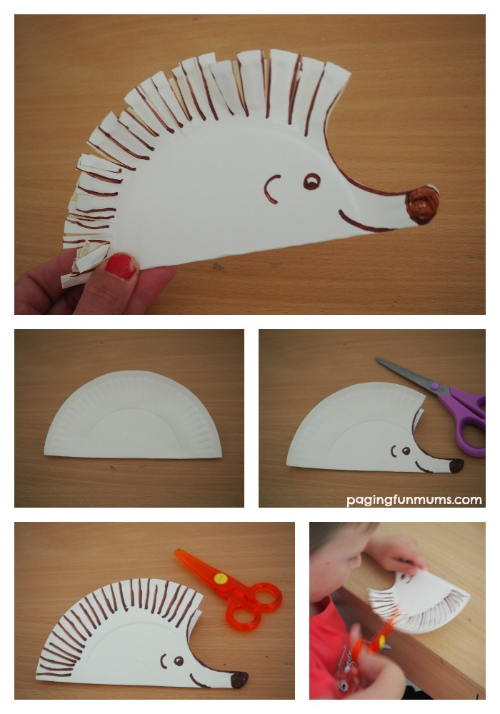 cute-hedgehog-paper-plate-craft-great-way-for-  sc 1 st  Paging Fun Mums & Hedgehog Paper Plate Craft - Paging Fun Mums