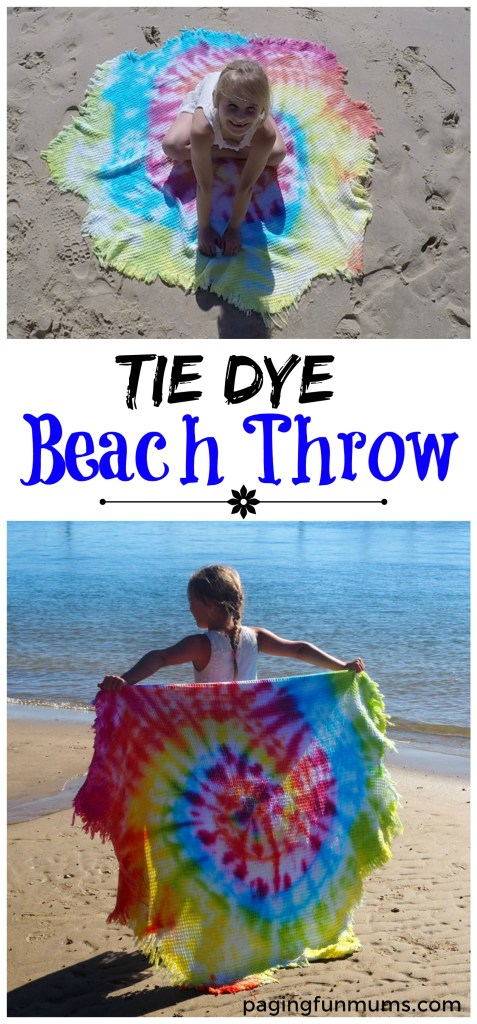 diy-tie-dye-beach-throw