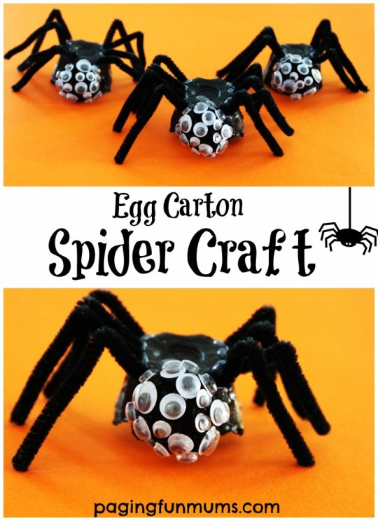egg-carton-spider-craft