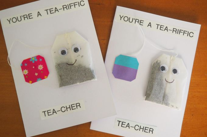 Tea-riffic Tea-cher Appreciation Card