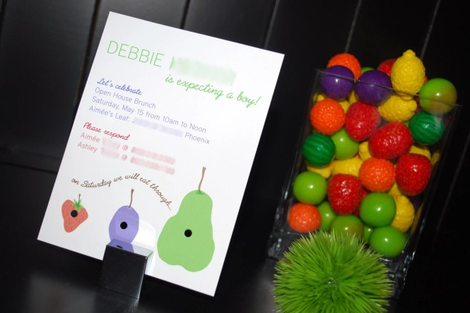 Hungry Caterpillar Baby Shower Paging