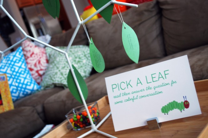 Hungry Caterpillar Baby Shower Paging Supermom