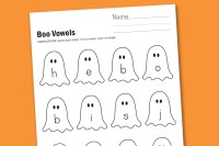kindergarten halloween activities printables