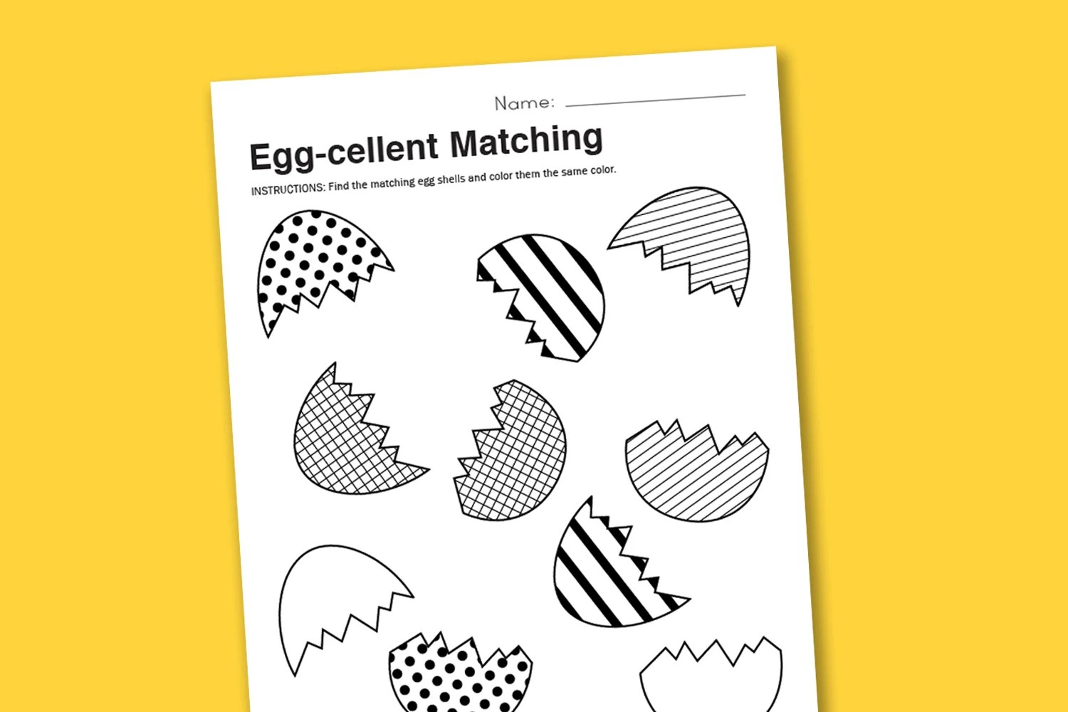 Egg Cellent Matching