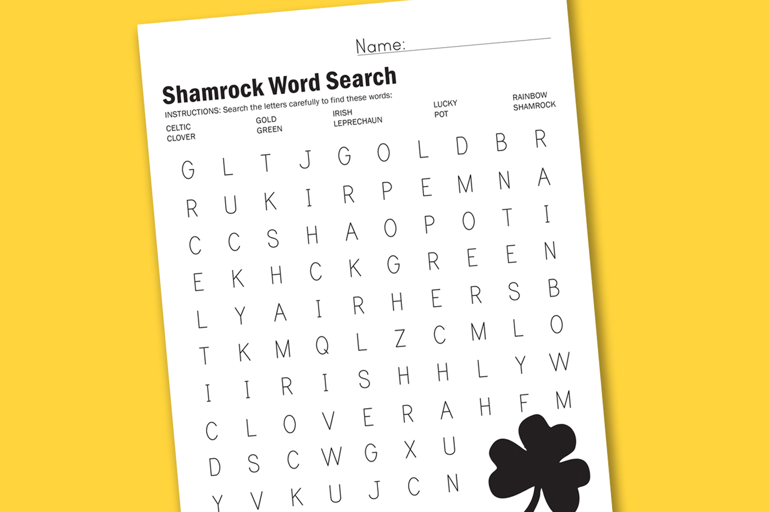 Search Results For St Patricks Day 4th Grade Worksheet