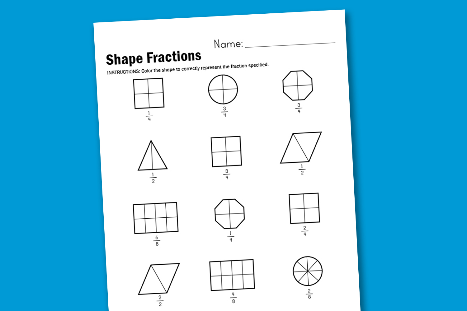 Search Results For Fraction Worksheets Calendar