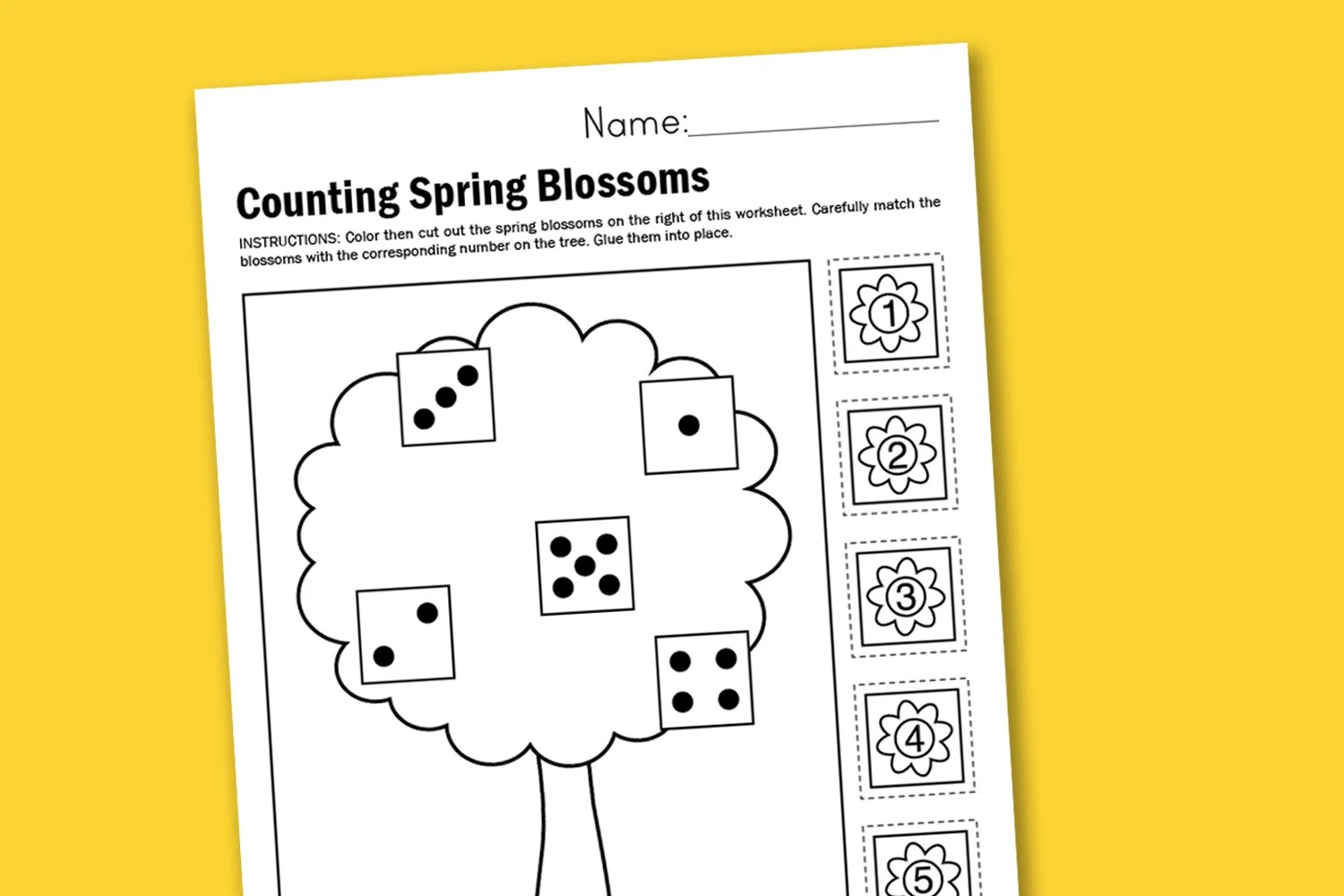 Sunshine Math Worksheets