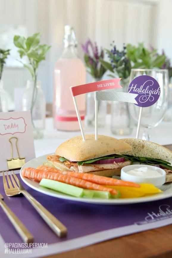 Easter Dinner Table Setting Ideas Jidiletter Co
