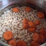 Fasole și morcov pentru fasole bătută sau fasole făcăluită