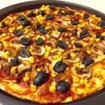 Blat de pizza pufos, rapid și gustos cu legume