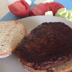 Asamblare burger vegetal de post