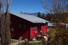 Pagosa Springs red house