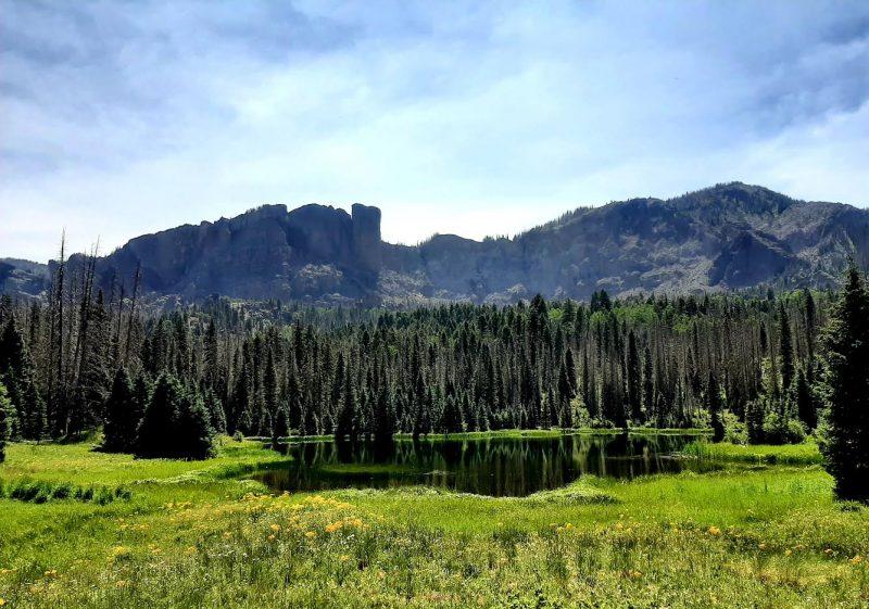 Pagosa Springs Adventure Club hike to Opal Lake 7.10.21