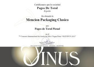 Mencion Olivinus 2013