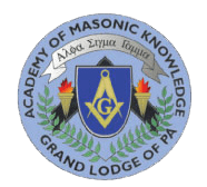 Academy of Masonic Knowledge Logo
