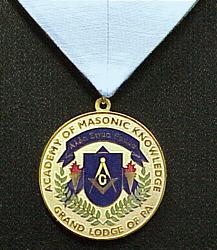 Master Masonic Scholar Jewel