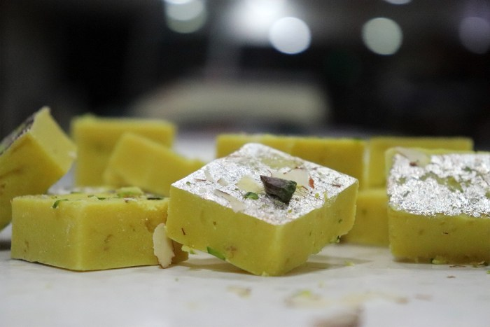 pineapple burfi