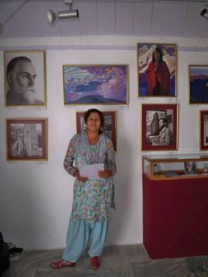 Парвати Тхакур, Международный Мемориальный Трест Рерихов