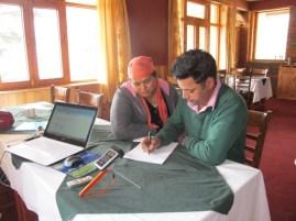 Дхармендер и Анита Дхарвал в своем ресторане Nightingale