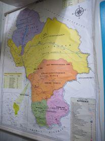 Map of Kullu district