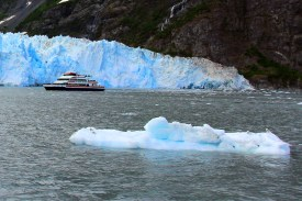 another cruise close to the glacier