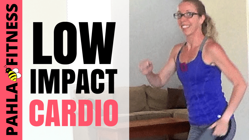 LOW IMPACT Cardio + CORE Stability Home Workout - No Jumping, No Equipment - Pahla B Fitness THUMB!