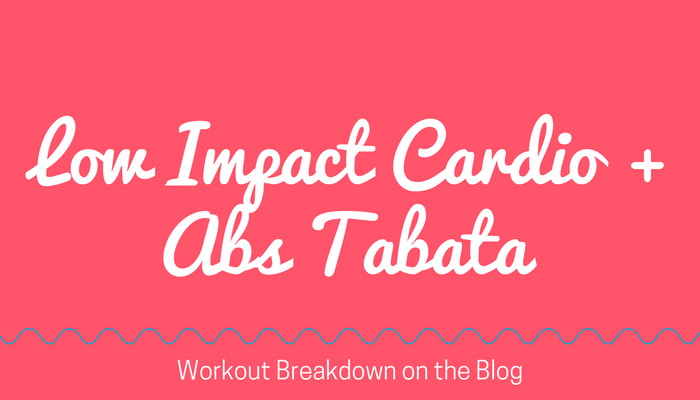 LOW IMPACT (Quiet) Cardio + Abs TABATA High Intensity Workout without Jumping, free home exercise video from Pahla B Fitness