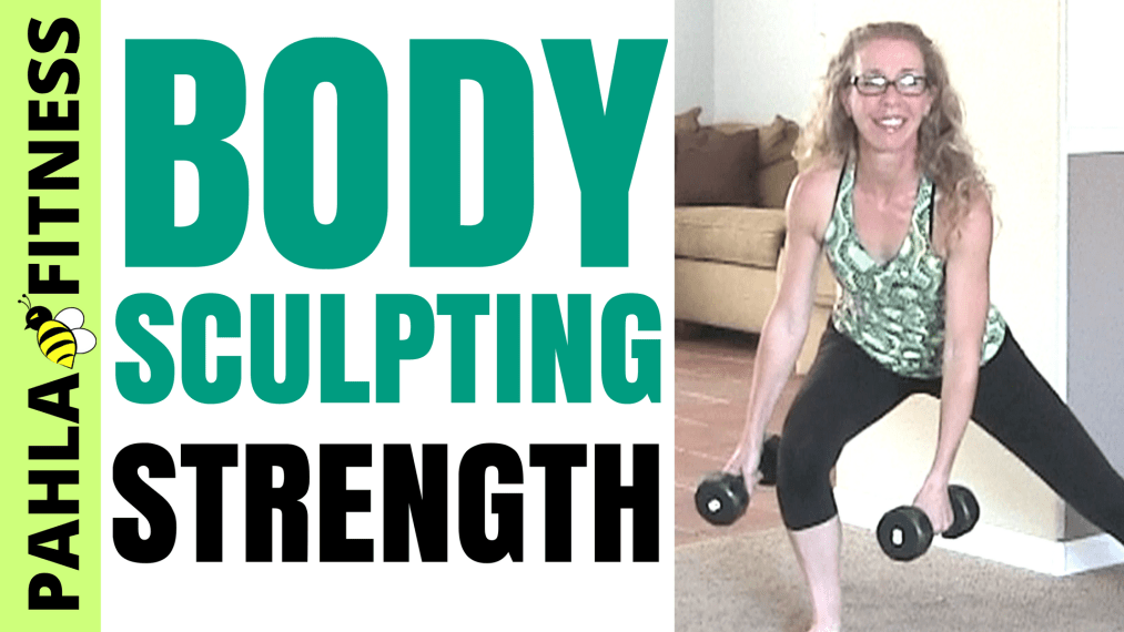 Straight Up STRENGTH TRAINING _ 30 Minute Body-Sculpting DUMBBELL Workout to TONE + STRENGTHEN - Pahla B Fitness THUMB!