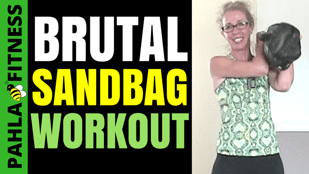 The great thing about this SANDBAG MetCon is that it's efficient for both weight loss and body shaping, with long intervals of cardio and strength work.