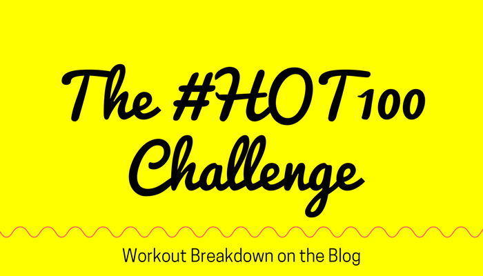 The #HOT100 Challenge and GIVEAWAY from Pahla B Featured Image