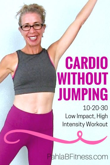 25 Minute LOW IMPACT Cardio Workout -10-20-30 Routine for Endurance, Fat Loss and Body Shaping - Full Length Home Workout from Pahla B Fitness