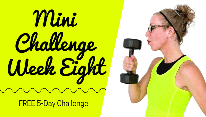 #PahlaBMiniChallenge Week EIGHT Full Length Home Workout from Pahla B Fitness Blog Featured Image