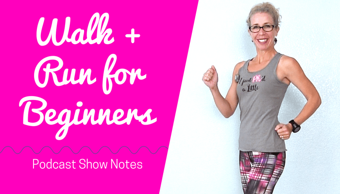 WALK + RUN for BEGINNERS - 30 Minute (2 Mile) INDOOR WALKING Podcast Where Will Running Take YOU Full Length Home Workout from Pahla B Fitness Blog Featured Image