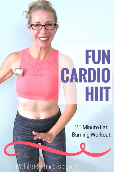 FUN Cardio HIIT _ Burn 200 Calories in 20 Minutes, All Standing Agility Workout - Full Length Home Workout from Pahla B Fitness