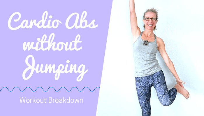 LOW IMPACT Cardio Abs HIIT _ 20 Minute Waist Slimming Workout without Jumping - BLOG Featured Photo
