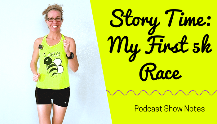 STORY TIME! 25 Minute (2 Miles) INDOOR WALK + RUN Workout _ My First 5k Race - BLOG Featured Photo