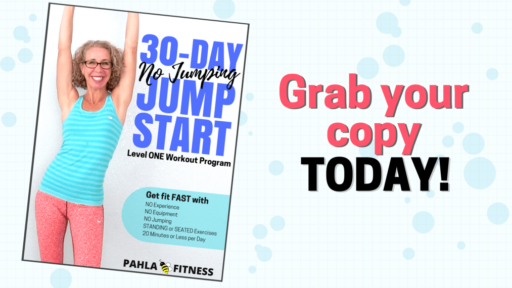 30 Day No Jumping Jump Start Workout Program from Pahla B Fitness