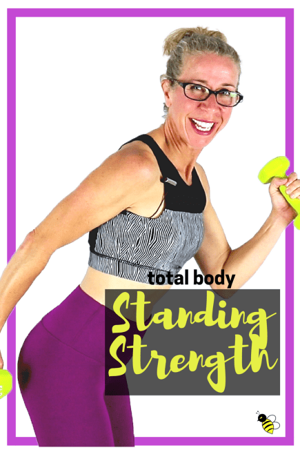 STANDING STRENGTH _ Quick No Repeat Full Body TONING Workout with Dumbbells for Body-Shaping Results FREE on YouTube from Pahla B Fitness