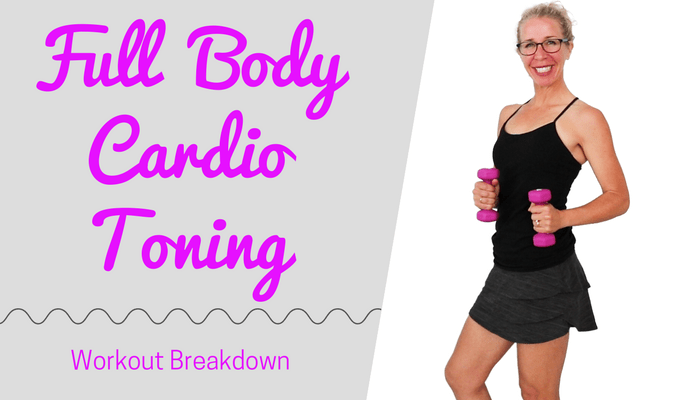 10 Minute Cardio Toning HIIT _ Stackable, Fast-Paced + FUN _ TOTAL BODY Cardio Workout with WEIGHTS - BLOG Featured Photo