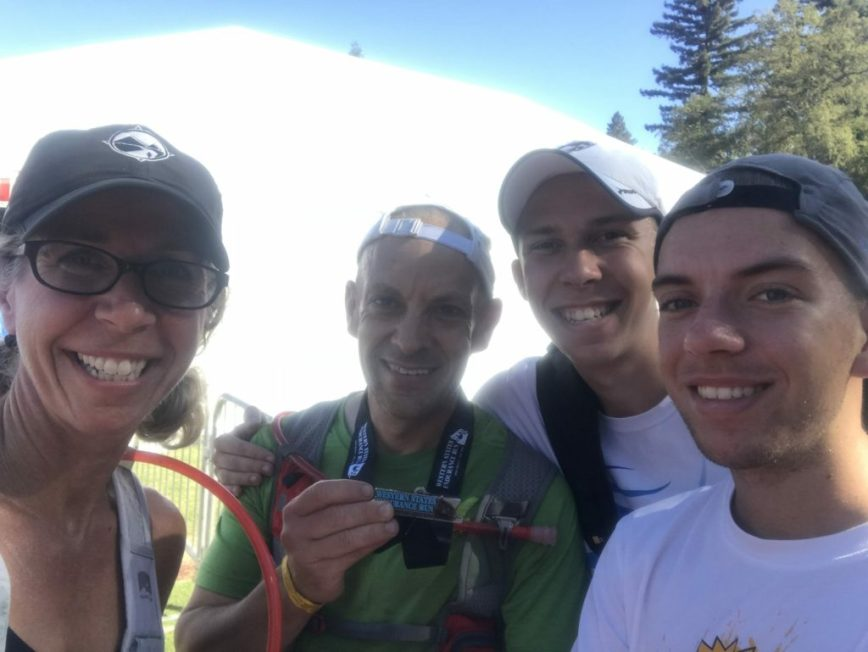 Davey B Runs the Western States 100 Mile Endurance Race