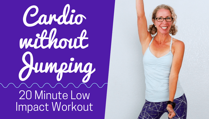 20 Minute LOW IMPACT Cardio HIIT, Burn 200 Calories - BLOG Featured Photo